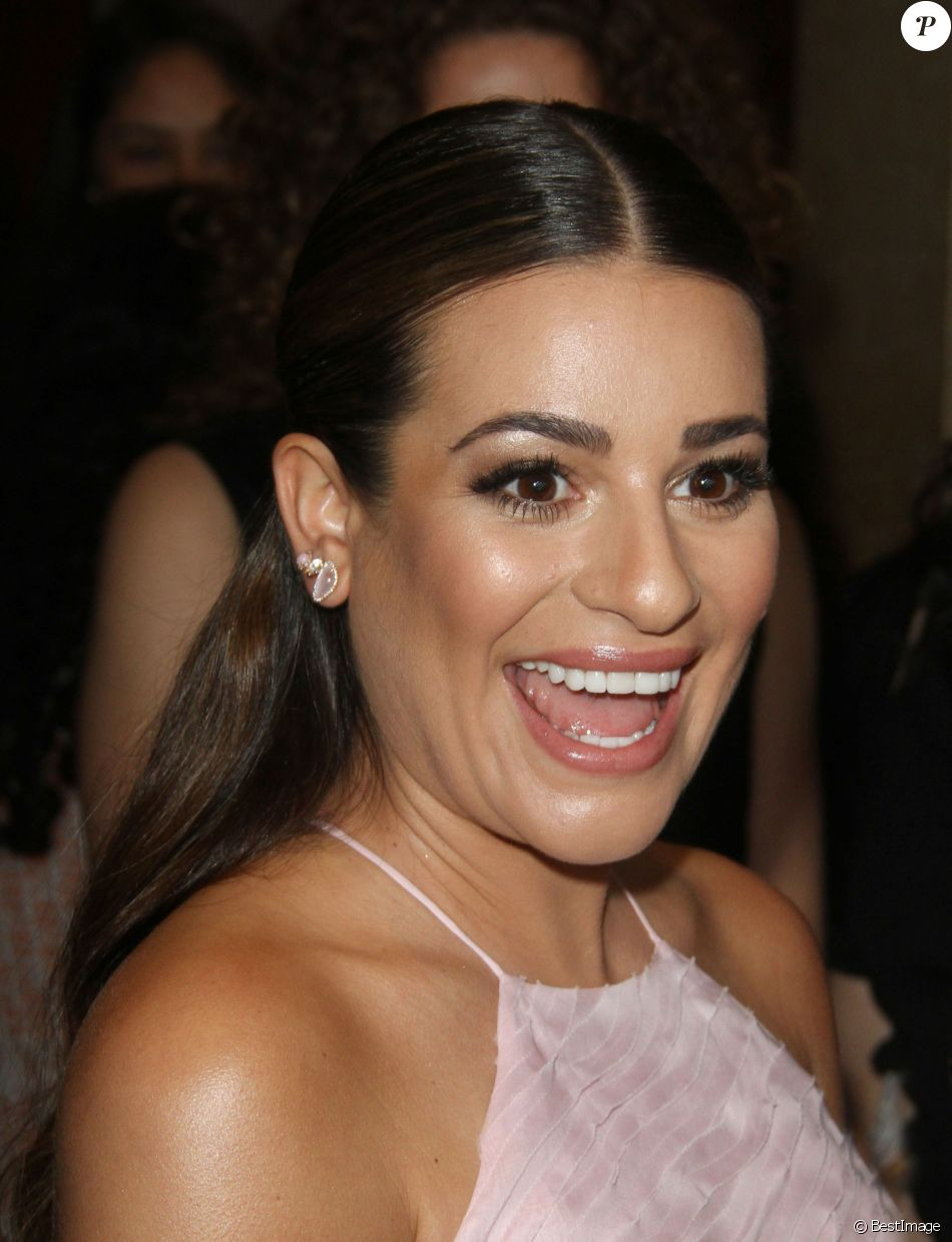Lea Michele à la 13ème soirée annuelle Inspiration Awards to benefit STEP UP à l'hôtel The Beverly Hilton à Beverly Hills, le 20 mai 2016