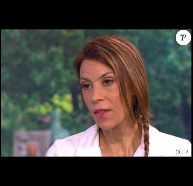 Marion Bartoli malade, se confie sur ITV (capture d'écran).