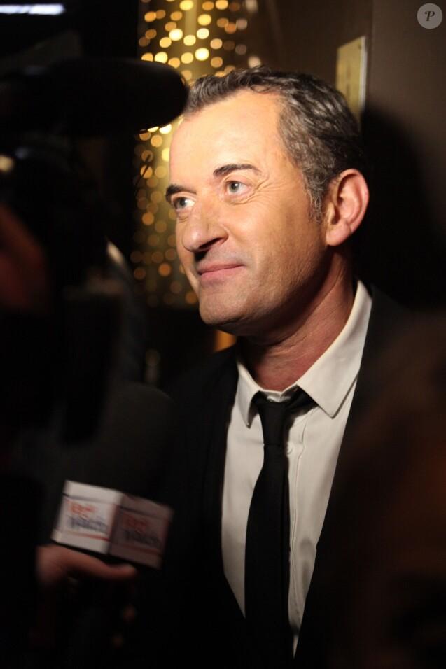 Christophe Dechavanne - Les Gerard de la Television 2012 a Paris le 17 Decembre 2012.