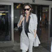Victoria Beckham : Maman stylée, elle rejoint David et leurs enfants en vacances