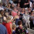 Exclusif - Laeticia Hallyday au concert de Johnny Hallyday au Vélodrome à Arcachon. Le 19 juillet 2016 © Patrick Bernard-Thibaud Moritz / Bestimage