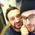 """Hakim Jemili, membre du collectif d'humoristes Woop, rejoint l'équipe de """"Touche pas à mon poste sur D8"""". Juillet 2016."""