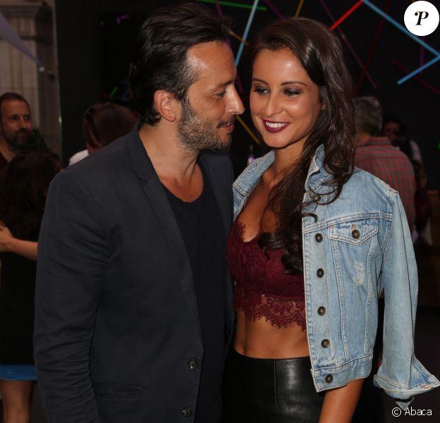 Michaël Cohen et sa girlfriend Malika Ménard au FNAC Live Festival 2016, Paris, le 20 juillet 2016.