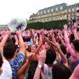 La chanteuse Jain en concert lors du Fnac Live Festival 2016 sur le parvis de l'Hôtel de Ville de Paris. Le 20 juillet 2016 © Céline Bonnarde / Bestimage