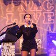 La chanteuse Jain en concert lors du Fnac Live Festival 2016 sur le parvis de l'Hôtel de Ville de Paris. Le 20 juillet 2016 © Céline Bonnarde / Bestimage 20/07/2016 -