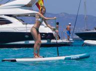 Doutzen Kroes : Sirène sur son paddle, des vacances en famille au top !