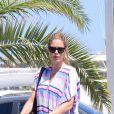 Doutzen Kroes avec son mari Sunnery James et leurs enfants Phyllon Joy et Myllena Mae Gorre en vacances à Ibiza, le 24 juillet 2016