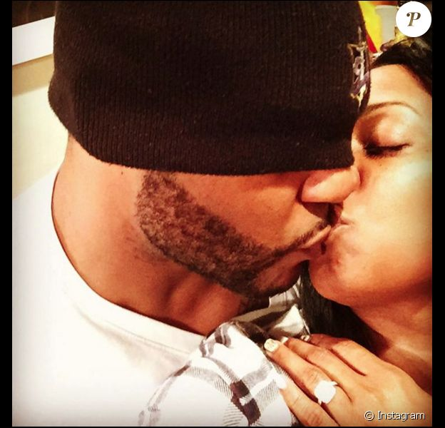 Keisha Knight Pulliam et son fiancé Ed Hartwell