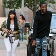 Nicki Minaj et son compagnon Meek Mill font du shopping chez Barney à Los Angeles le 16 septembre 2015.