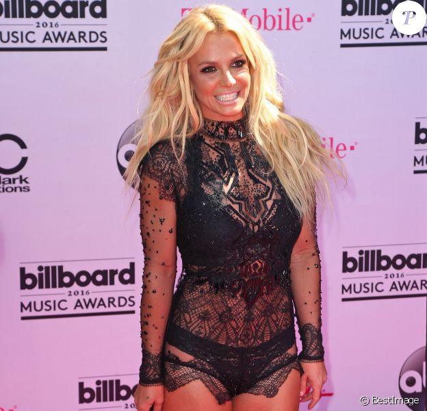 Britney Spears à la soirée 2016 Billboard Music Awards à T-Mobile Arena à Las Vegas, le 22 mai 2016.