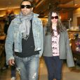 Britney Spears et son petit ami Adnan Ghalib à Los Angeles, le 15 janvier 2008