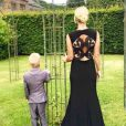 Amélie Neten et son fils Hugo sur Instagram, samedi 30 juillet 2016