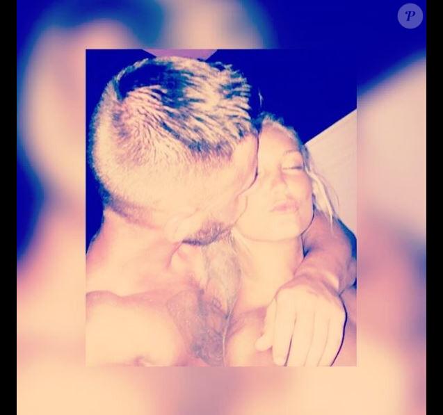 Aurélie Dotremont a retrouvé l'amour dans les bras de Geoffrey