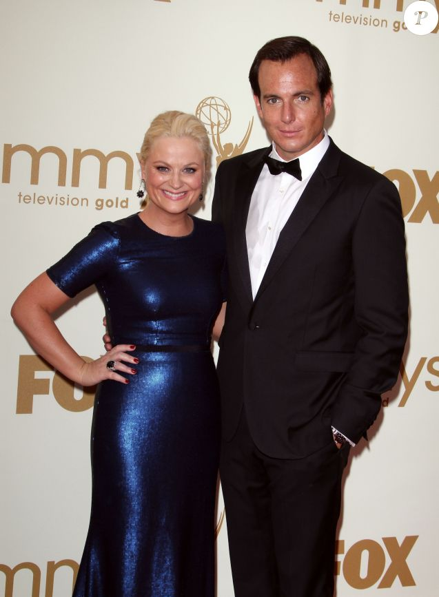 Amy Poehler et Will Arnett - 63e Emmy Awards, le 18 septembre 2011 à Los Angeles.