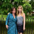 Jade Jagger et sa demi-soeur Georgia May à Londres, le 6 juillet 2016.