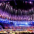 Cérémonie d'ouverture des JO à Rio, au Brésil, le 5 août 2016