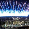 Cérémonie d'ouverture des Jeux Olympiques (JO) de Rio 2016 à Rio de Janeiro, Brésil le 5 août 2016.