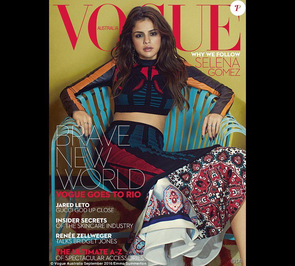 Retrouvez l'intégralité de l'interview de Selena Gomez dans le magazine Vogue. Août 2016