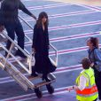 Selena Gomez arrive à l'aéroport de Sydney, Australie, le 8 août 2016.