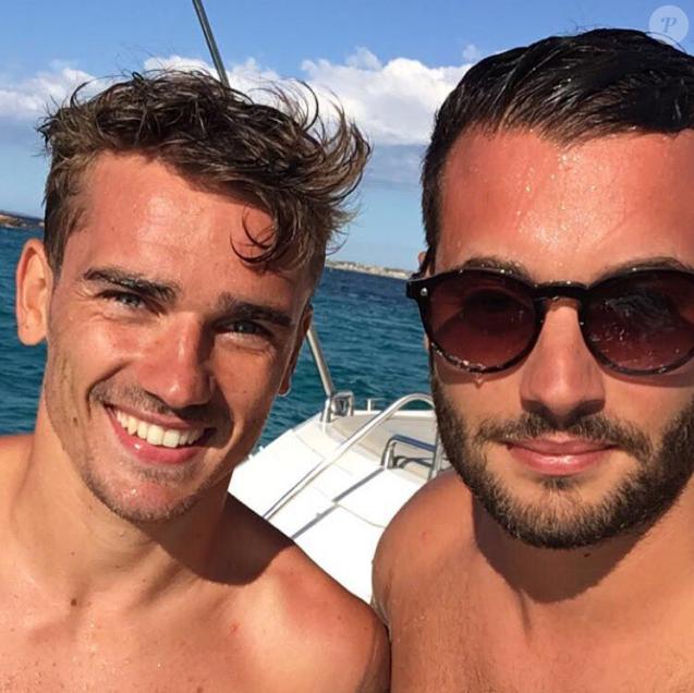 Antoine Griezmann et Loïc Fiorelli, le 7 août 2016.