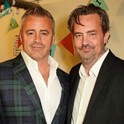 Matt LeBlanc fait une déclaration à son Friend Matthew Perry