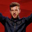 Claudio Capeo dans The Voice 5 sur TF1, le samedi 13 février 2016
