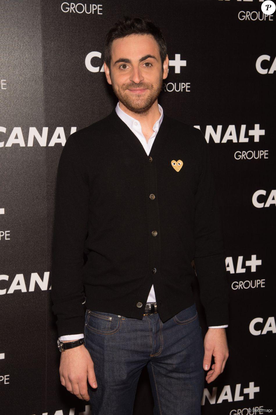 Camille Combal - Soirée des animateurs du Groupe Canal+ au Manko à Paris. Le 3 février 2016.