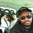 Photo de Djibril Cissé et ses trois garçons publiée le 15 août 2016.