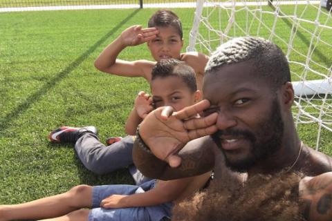 Djibril Cissé : Papa comblé avec ses trois garçons