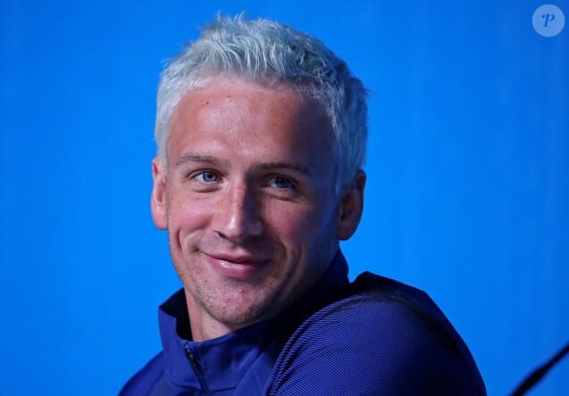 Le nageur Ryan Lochte pendant les Jeux olympiques, Rio, le 3 août 2016