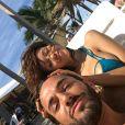 Nabilla Benattia et Thomas Vergara souriants à Rio de Janeiro, sur Snapchat, dimanche 31 juillet 2016