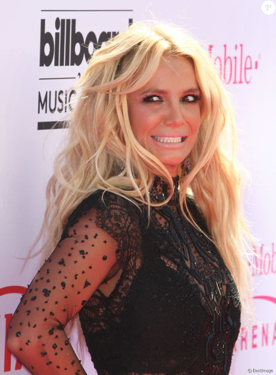 Britney Spears à la soirée Billboard Music Awards à T-Mobile Arena à Las Vegas, le 22 mai 2016