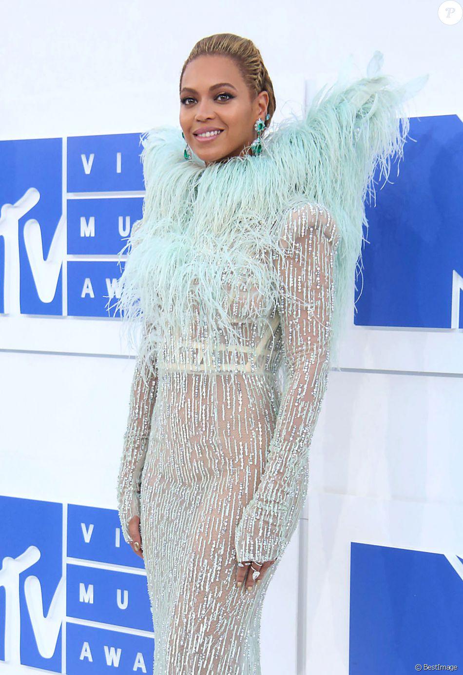Beyoncé aux MTV Video Music Awards au Madison Square Garden à New York City, le 28 août 2016. © Sonia Moskowitz/Globe Photos via Zuma/Bestimage