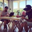 """""""Quelque chose se prépare..."""" Sur Instagram, M. Pokora tease son nouveau tatouage, le 23 août 2016."""