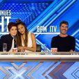 Le jury de X Factor Uk. Photo promo : Louis Walsh, Sharon Osbourne, Nicole Scherzinger et Simon Cowell.
