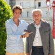 Philippe Azoulay et Claude Lelouch - Cérémonie de clôture du 9ème Festival du Film Francophone d'Angoulême - Jour 7, le 28 août 2016. © Coadic Guirec/Bestimage