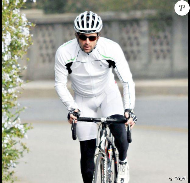 Patrick Dempsey en mode cycliste