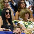 Vera Wang, Anna Wintour lors de la cérémonie d'ouverture de l'US Open 2016 au USTA Billie Jean King National Tennis Center à Flushing Meadow, New York City, New York, Etats-Unis, le 29 août 2016.