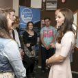 Le prince William et Kate Middleton, duc et duchesse de Cambridge, ont visité le centre pour jeunes Zebs à Truro le 1er septembre 2016, lors de leur visite officielle en Cornouailles.