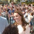 Le prince William et Kate Middleton, duc et duchesse de Cambridge, ont visité la cathédrale de Truro le 1er septembre 2016, première étape de leur visite officielle en Cornouailles.