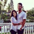 Michael Phelps et sa chérie Nicole, le 14 février 2015