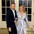 Ryan Reynolds et sa femme Blake Lively au dîner d'état en l'honneur du premier ministre canadien et sa femme à la Maison Blanche à Washington. Le 10 mars 2016