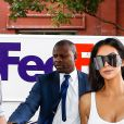 Kim Kardashian et sa fille North West sont allées déjeuner avec Tracy Romulus et sa fille à New York, le 2 septembre 2016