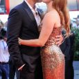 Amy Adams et son mari Darren Le Gallo lors de la première du film ''Nocturnal Animals'' lors du 73ème Festival du Film de Venise, la Mostra, le 2 septembre 2016.
