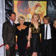 Hugh Jackman, Deborra-Lee Furness, Nicole Kidman et Keith Urban