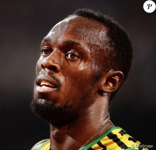 Usain Bolt - Vainqueur de la finale du relais 4x100m lors des Championnats du Monde d'Athlétisme à Pékin. Le 29 août 2015