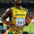 Usain Bolt remporte la finale du 200 mètres aux championnats du monde d'athlétisme de Pékin le 27 août 2015.