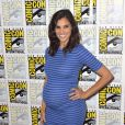 "Daniela Ruah enceinte 'CBS Fan Favorites' au photocall ""TV-Serie"" au Comic-Con International 2016 à San Diego, le 22 juillet 2016 © Future-Image via Bestimage"