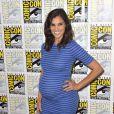 "Daniela Ruah enceinte 'CBS Fan Favorites' au photocall ""TV-Serie"" au Comic-Con International 2016 à San Diego, le 22 juillet 2016 © Future-Image via Bestimage"