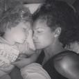 Daniela Ruah et son fils River Isaac. Photo publiée sur Instagram en septembre 2016
